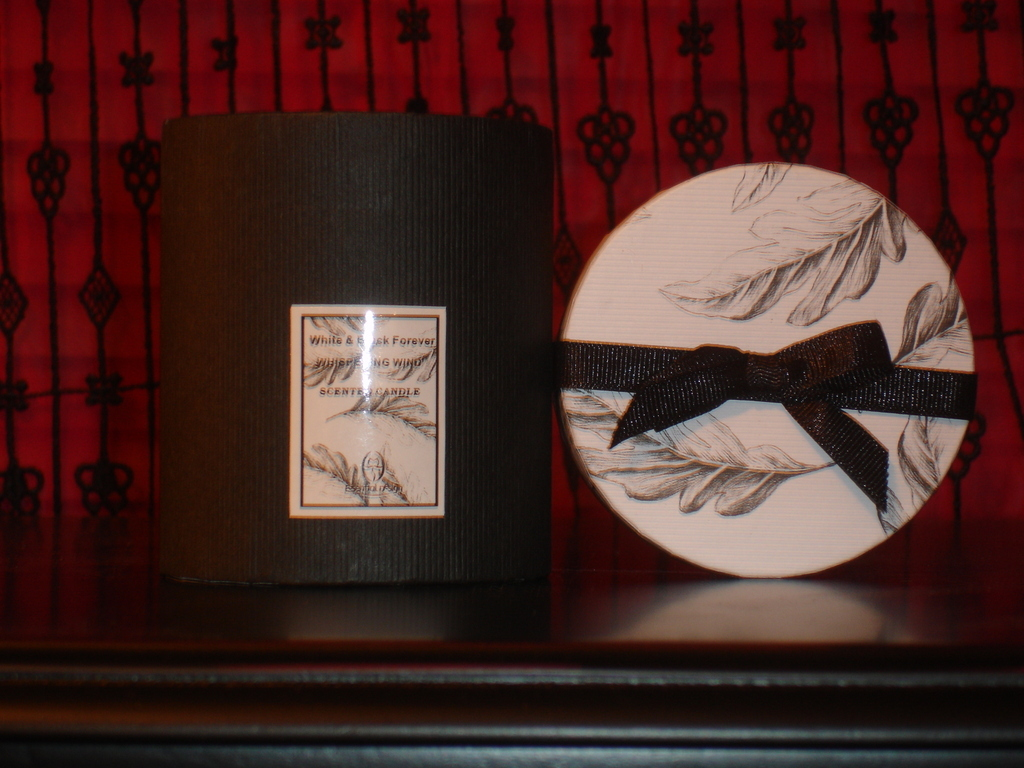 white, black, Candles, Bow, W