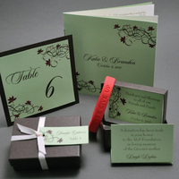 Favors & Gifts, Stationery, favor, Table Numbers, Program, Table number, Place card