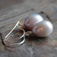 Jewelry, blue, Earrings, Wedding, Bridesmaid, Bridal, Pearls, Studios, South, Light, Dangle, Ohio, South paw studios, Toledo, Paw, Katy, Mims