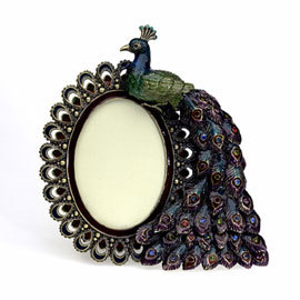 Favors & Gifts, favor, Card, Place, Peacock, Frame