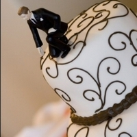Cakes, brown, cake, Wedding, inc, Topper, Top, Weddings by stephanie