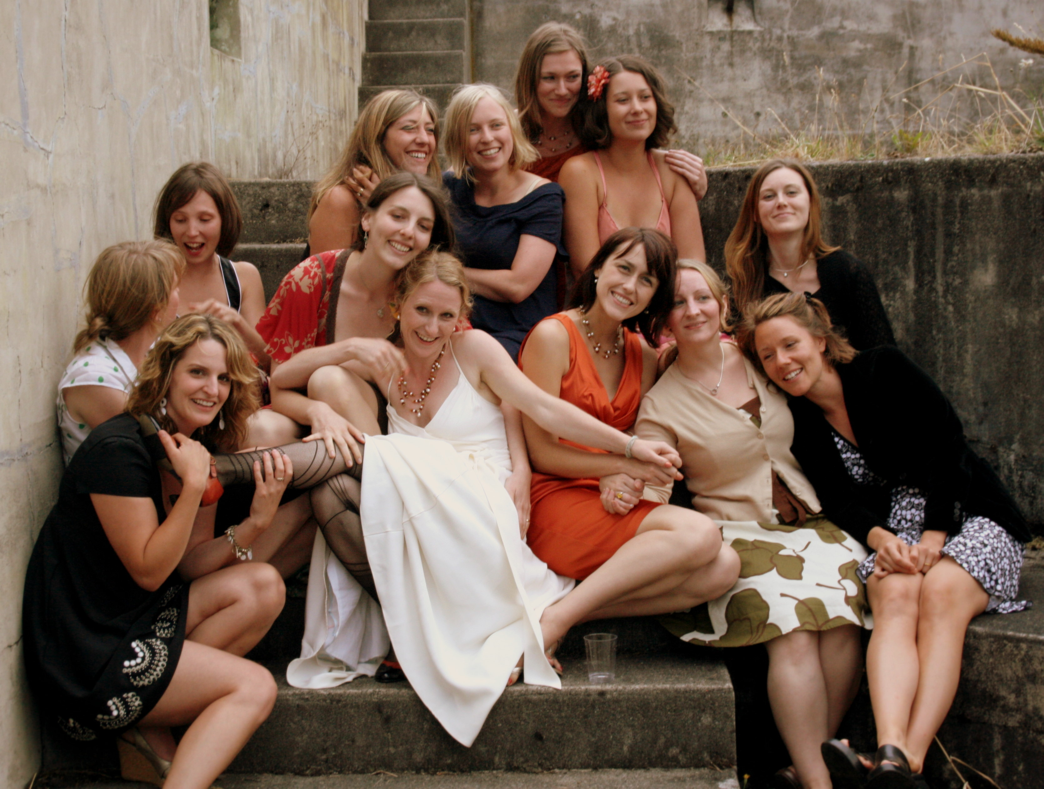 Bride, Bridemaids, K mycia photography, Best-friends, Girl-friends