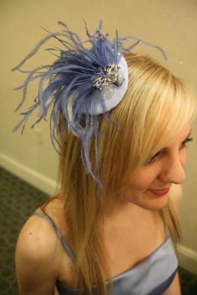 Beauty, Feathers, Bridesmaid, Bridal, Headpiece, Fascinator, Feather, Breeziway llc