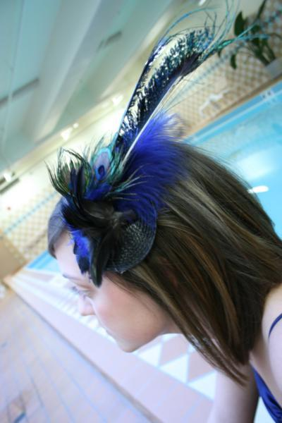 Beauty, Feathers, Bridesmaid, Headpiece, Fascinator, Feather, Breeziway llc