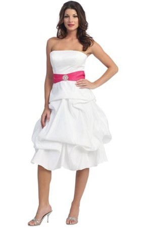 Bridesmaids Dresses, Wedding Dresses, Fashion, white, dress, Bridesmaid, Strapless, Strapless Wedding Dresses, Size, Plus, Large, Embroidered, Idressonline