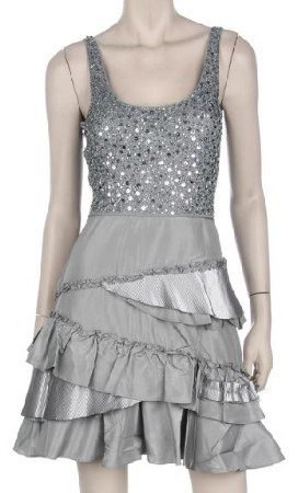 Wedding Dresses, Fashion, silver, dress, Party, Austin, Cocktail, Designer, Mini, Top, Evening, Sequins, Discount, Tank, Nina, Idressonline, Dr