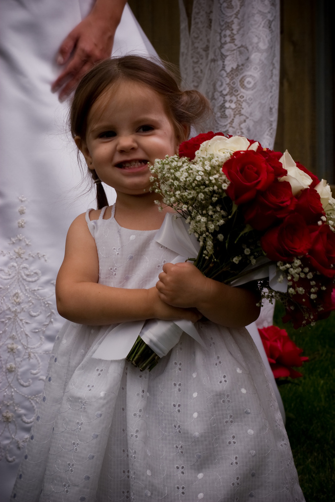 Flowers & Decor, Wedding Dresses, Fashion, white, dress, Flower, Girl, Child, Adorable, Vorpal images
