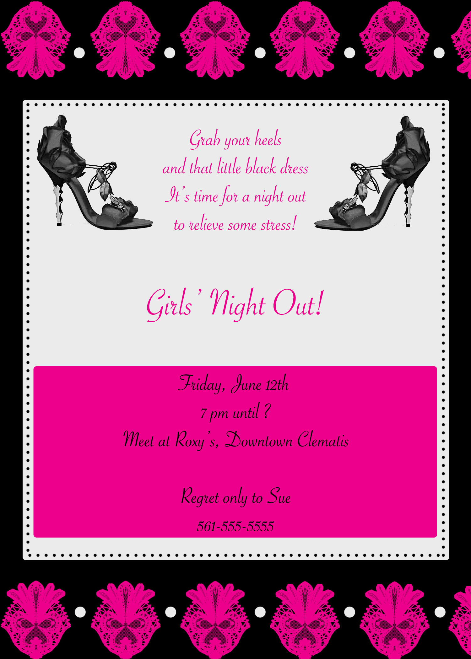 Stationery, invitation, Invitations, Bachelorette party