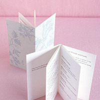 Stationery, Ceremony Programs