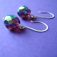 Jewelry, purple, Earrings, Bridesmaid, Spiffing jewelry