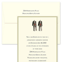 Ceremony, Flowers & Decor, Stationery, Invitations, Wedding, Gay, Commitment, Elegant bridal invitations, Outvite