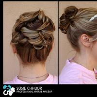 Jewelry, Tiaras, Updo, Tiara, Blonde, Susie chhuor professional hair and makeup, Highlights, High up do