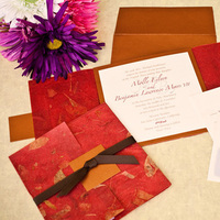 Paper, red, brown, Square, Map, Custom, Rsvp, Handmade, Papercake designs
