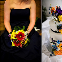 Flowers & Decor, Photography, Cakes, orange, blue, cake, Flowers, Wedding, Photos, Jagger photography, Jagger