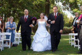 Ceremony, Flowers & Decor, Bride, Wedding, Dad, And, Aisle, Searchlight weddings, Dads
