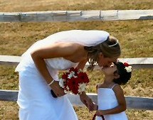 Flowers & Decor, Bride, Flower, Girl, Moment, Tender, Searchlight weddings