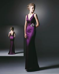 Bridesmaids Dresses, Wedding Dresses, Fashion, purple, dress, Bridesmaid, Peacock, Enzoani