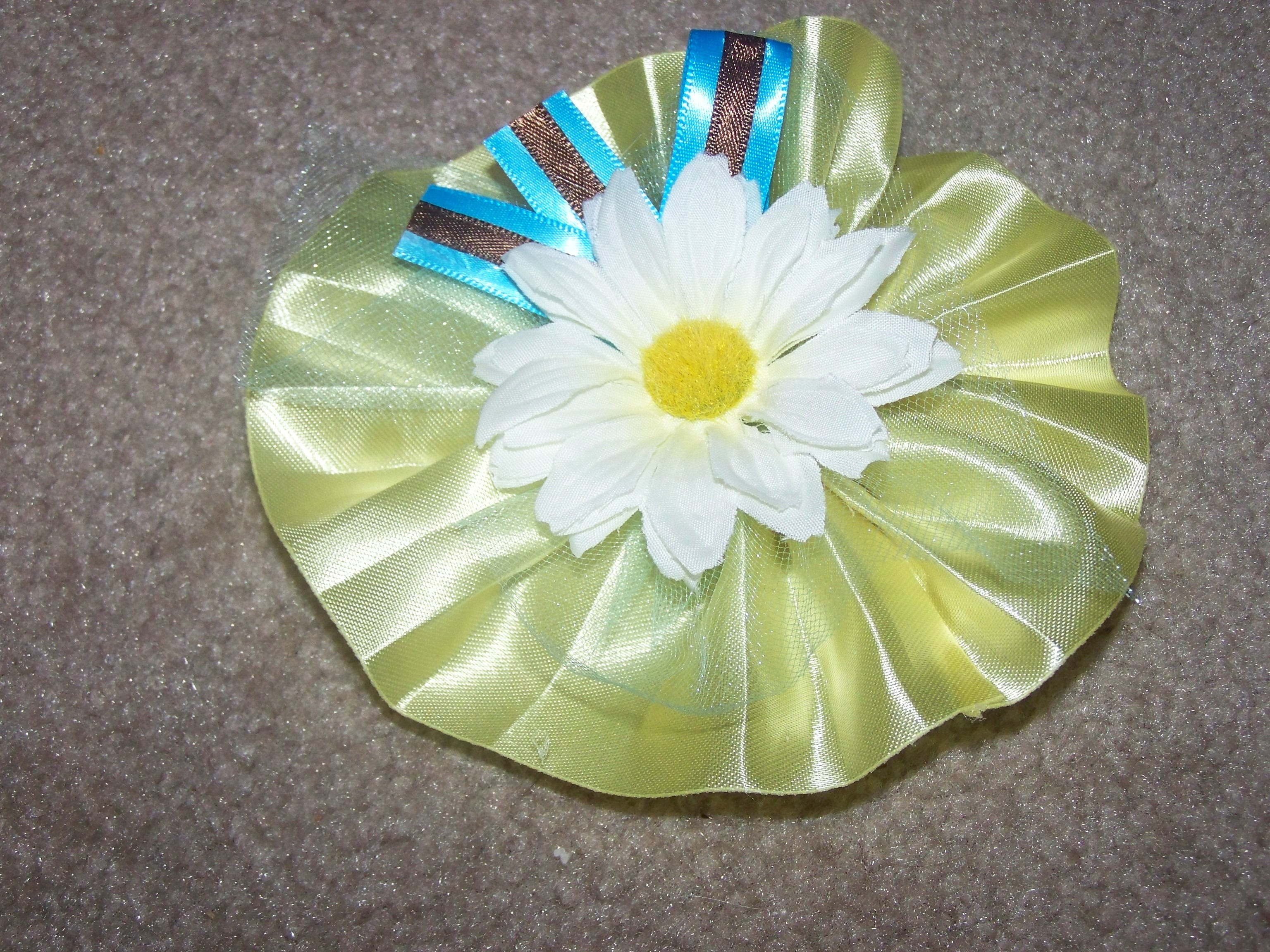 Flowers & Decor, yellow, blue, brown, Corsages, Flowers, Daisy, Corsage