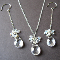 Jewelry, Necklaces, Earrings, Bride, Bridal, Necklace, Spiffing jewelry