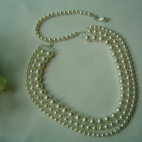 Jewelry, Necklaces, Bride, Necklace, Swarovski, Pearl, Bridalbling, Multi-strand