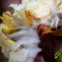 Beauty, Flowers & Decor, Feathers, Bride Bouquets, Flowers, Bouquet