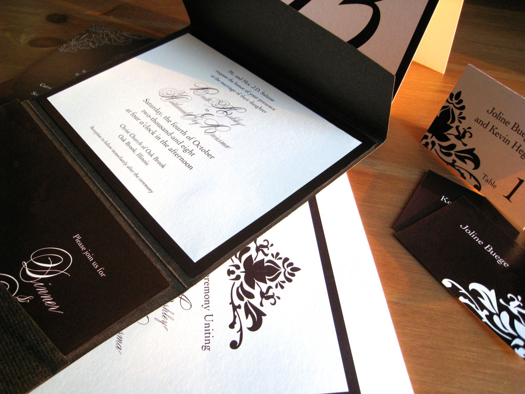 Stationery, invitation, Invitations, Escort Cards, Menu, Program, Rsvp, Concentric design