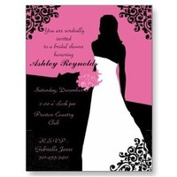 Bridal Shower, Weddings, Wedding invitations, Wedding invitation cards, Bridal shower invittaions, Bridal showers, Blessed weddings, Cheap invittaions, Bridal shower invites