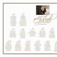 white, black, Modern, And, Unique, Photo, Engagement, Color, Seating, Chart, We seat occasions