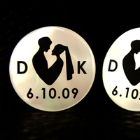 Groomsmen, Bride, Groom, Wedding, Mother, The, De, Pearl, Cufflinks, Cuff, Links, The cuft lynx, Commemorative, Cuft, Lynx