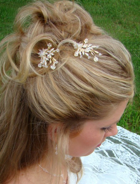 Beauty, Jewelry, Hairpin, Hair, Bridal, Hairpins, Pins, Dtabridalcom