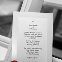 Ceremony, Flowers & Decor, Stationery, red, invitation, Invitations, Tent, Perry consulting, Carpet