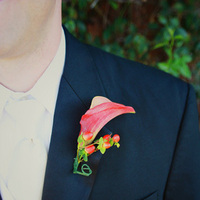 Flowers & Decor, Fashion, Men's Formal Wear, Flower, Groom, Tuxedo, Boutonniere, Suit, Volatile photography