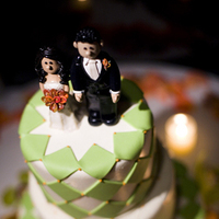 Cakes, orange, green, cake, Lime, Fun, Topper, In the now weddings and events, Whimsical