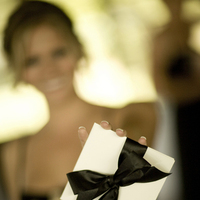 Ceremony, Flowers & Decor, Favors & Gifts, white, black, Favors, And, Cd, Crossroads, A taylor made wedding