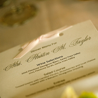 Reception, Flowers & Decor, white, pink, black, Menu, Table, And, Stationary, A taylor made wedding