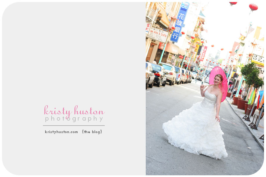 pink, purple, Umbrella, San francisco, Chinatown, Kristy huston photography, Bridals, Pink umbrella