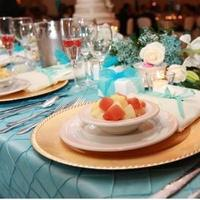 Reception, Flowers & Decor, Decor, ivory, blue, gold, Flowers, Champagne, Headtable, York, New, Charger, Pintuck, Ladybugg