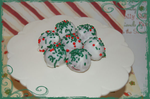 Favors & Gifts, Cakes, cake, Favors, Cupcakes, Cupcake, Christmas, Truffles, Bites