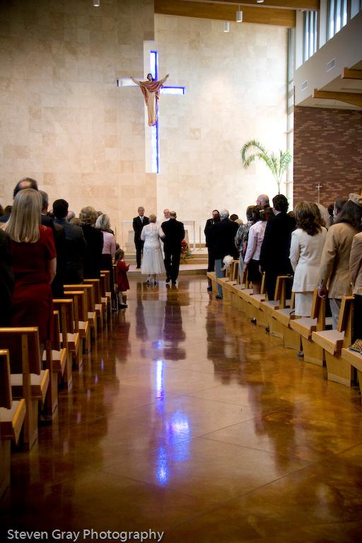 Bride, Church, Aisle, Entry