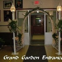 Flowers & Decor, Garden, Arch, Entrance, Light, All occasions plus, Posts