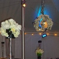 Flowers & Decor, white, black, Tables & Seating, And, Tables, Damask