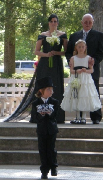 Flower Girl Dresses, Wedding Dresses, Fashion, dress, Bride, Flower girl, Damask, Black dress