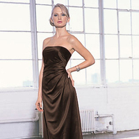 Bridesmaids, Bridesmaids Dresses, Wedding Dresses, Fashion, brown, dress, Levkoff, Bill, Sable, 310