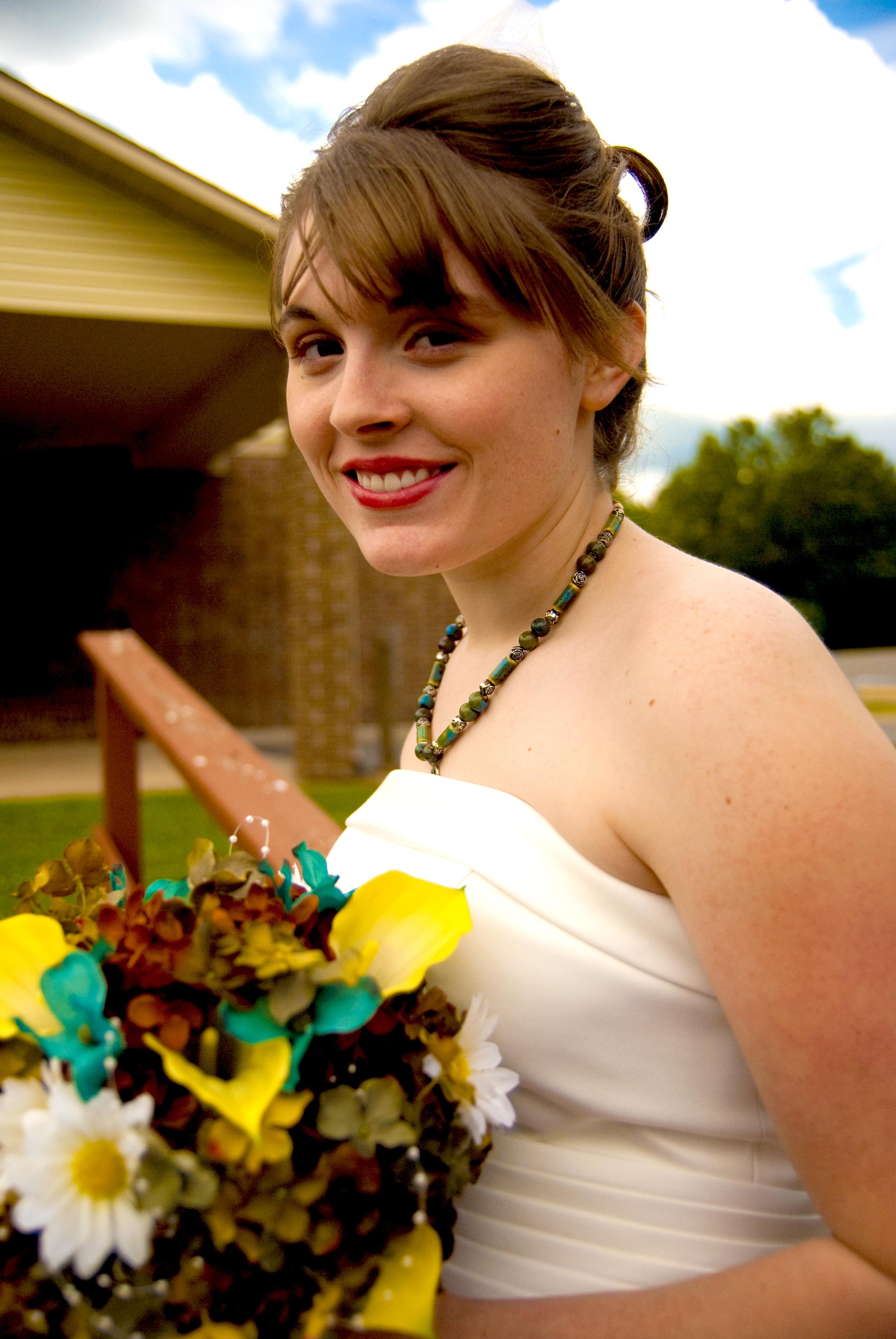 Bride, Bouquet, Bridal