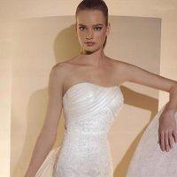 ivory, Mermaid, Lace, Wedding dress, White one