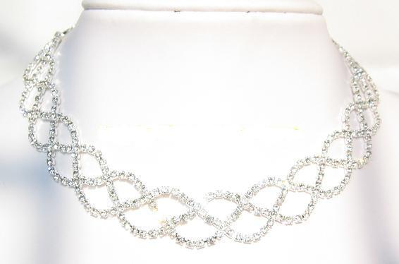 Jewelry, Bridesmaids, Bridesmaids Dresses, Fashion, Necklaces, Unique, Crystal, Necklace, Rhinestone, Choker, Unusual, Sparkly, Lou lou belles, Chokers