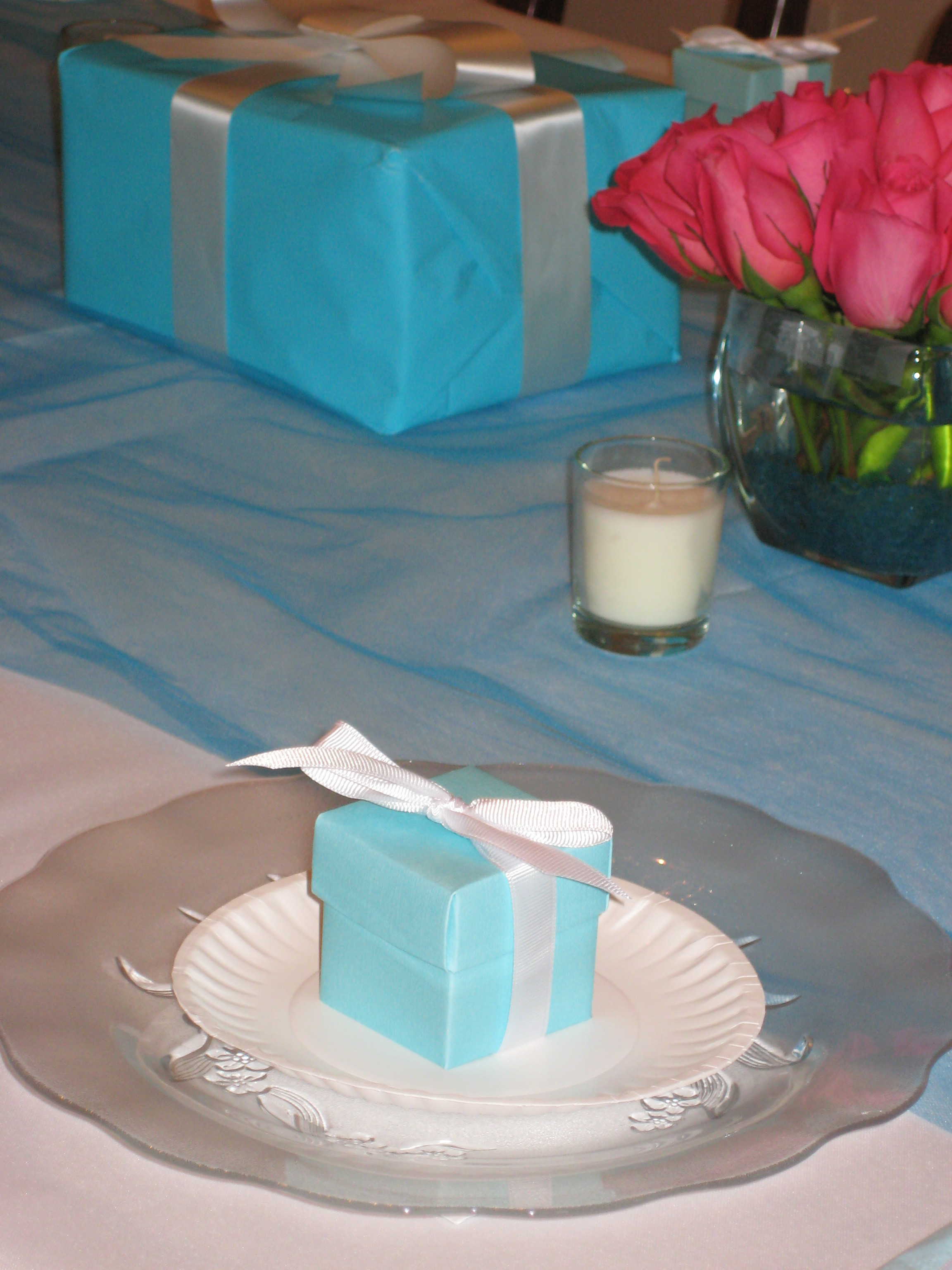 Favors & Gifts, Favors, Centerpieces, And, Tiffany, Co
