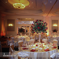 Reception, Flowers & Decor, Lighting, Linen, Ballroom, Orlando, A flair for affairs - weddings events, Red roses, Portofino bay resort