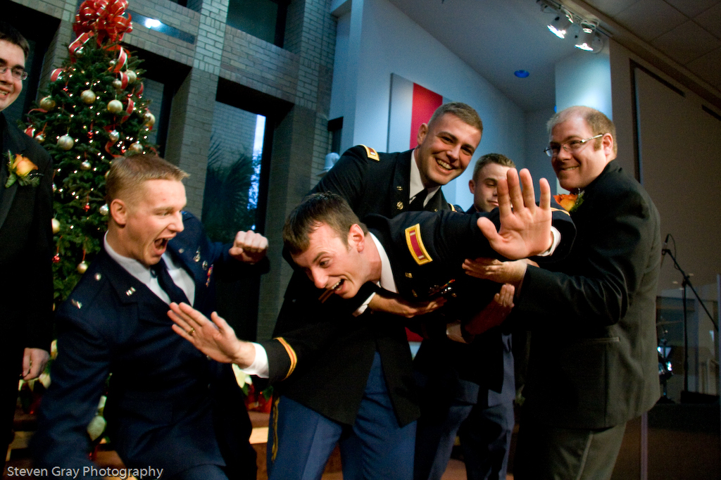 Modern, Groomsmen, Outdoor, Groom, Best man, Fun, Outdoors, Steven gray photography