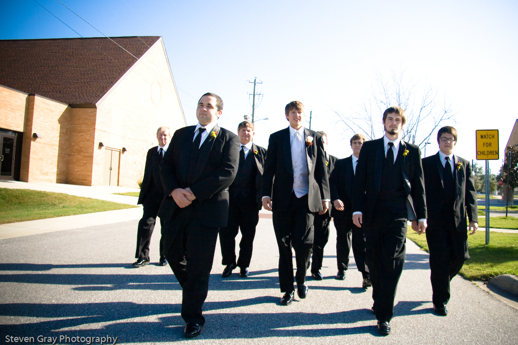 blue, Groomsmen, Outdoor, Groom, Walking, Colorful, Outdoors, Motion, Steven gray photography
